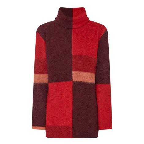 Ekema Patchwork Sweater, ${color}