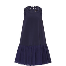 OSHIMA DRESS NVY PERF