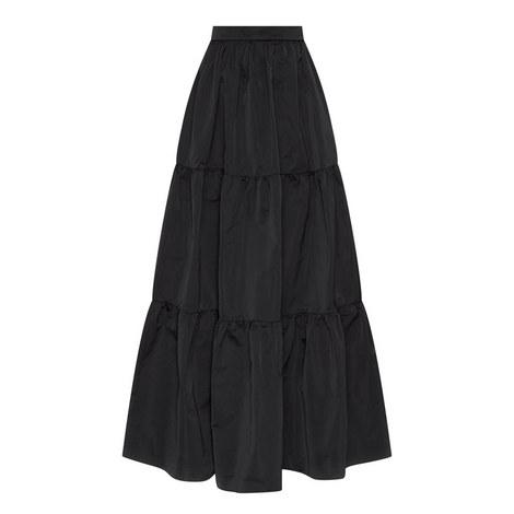 Taffeta Maxi Skirt, ${color}