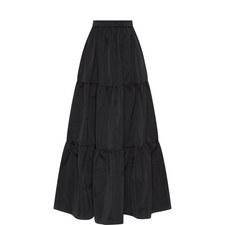 Taffeta Maxi Skirt
