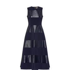 Wren Lamé Stripe Dress