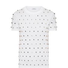 Polka Platinum Studded T-Shirt