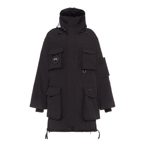 Longline Parka Jacket, ${color}