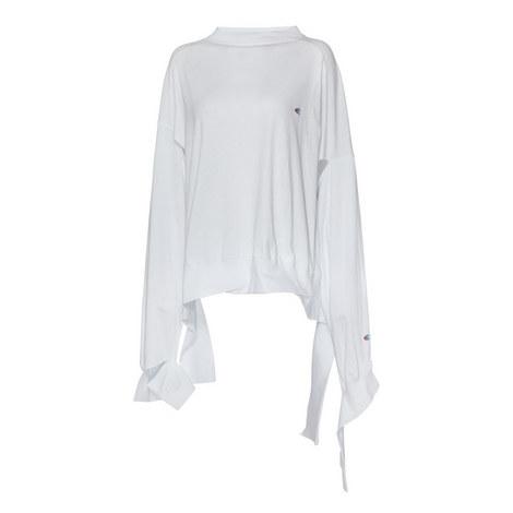 Shredded Cotton Sweatshirt, ${color}