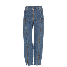 Reworked Zip Jeans