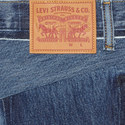 Classic Reworked Denim Jeans, ${color}