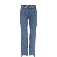 Classic Reworked Denim Jeans