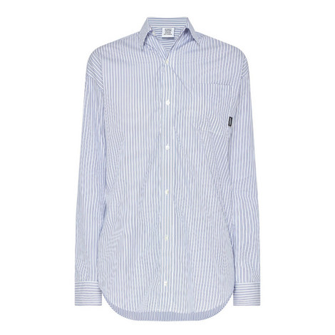 Stripe Relaxed Fit Shirt, ${color}