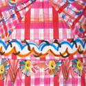 Sunflower Print Midi Dress, ${color}