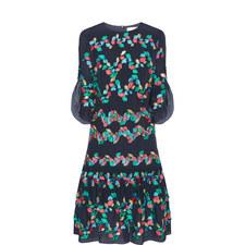 Fil-Coupé Dress