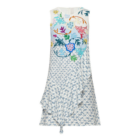 Crepe Print Sleeveless Dress, ${color}