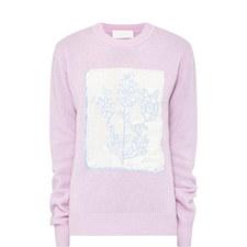 Floral Intarsia Sweater