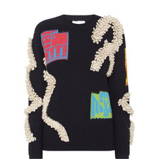 Relaxed Motif Sweater