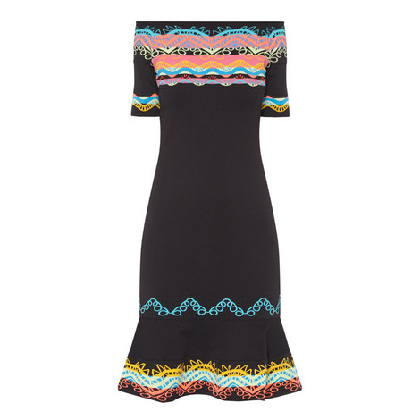 Jacquard Dress , ${color}