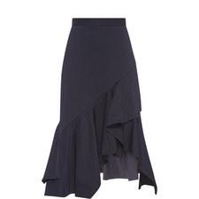 Frill Drape Skirt