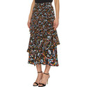 Silk Printed Midi Skirt, ${color}