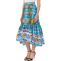 Check Frill Skirt , ${color}