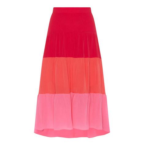 Colour-Block Skirt, ${color}