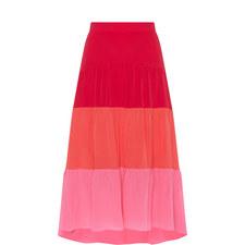 Colour-Block Skirt
