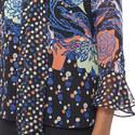 Georgette Printed Top, ${color}
