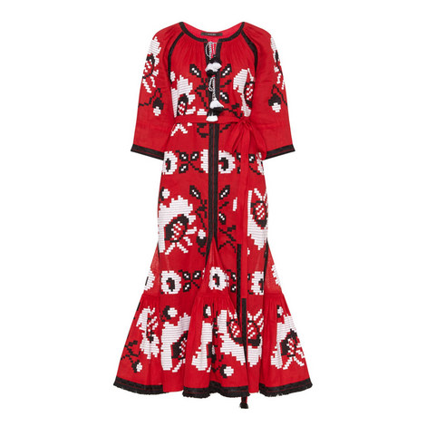 Poppy Embroidered Dress, ${color}