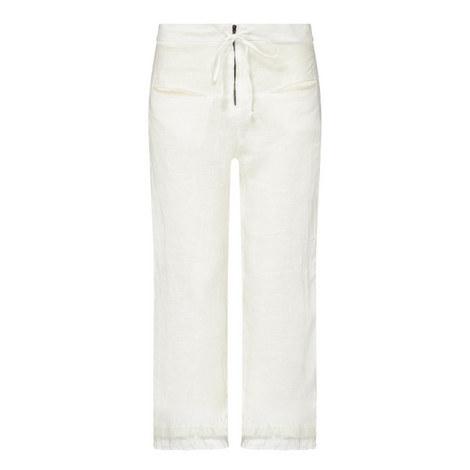 Natural Linen Trousers, ${color}