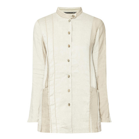 Two-Tone Stripe Jacket, ${color}