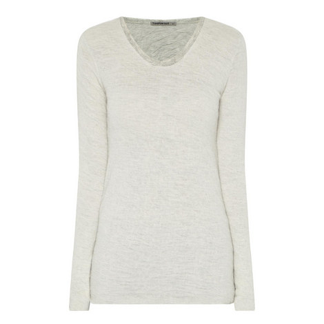 Alpaca Trim Sweater, ${color}