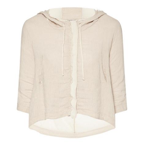 Short Hooded Jacket, ${color}