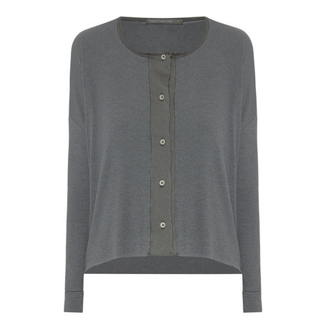 Fine Ribbed Cardigan, ${color}
