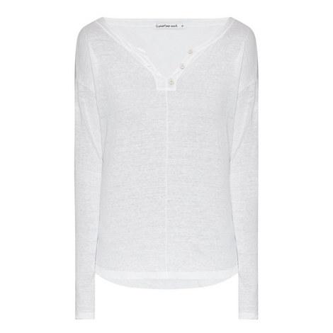 Linen Button Top, ${color}