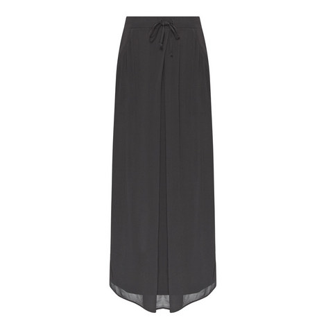 Panelled Midi Skirt, ${color}