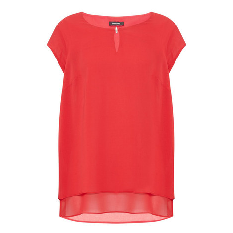 Short Sleeve Blouse, ${color}