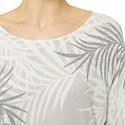 Palm Print Sparkle Sweater, ${color}