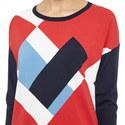 Diamond Pattern Sweater, ${color}
