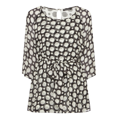 Polka Dot Blouse, ${color}