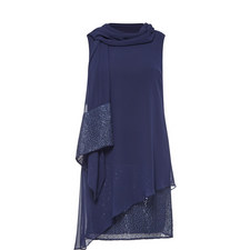 Sequin Dress and Scarf