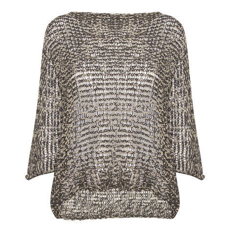 Bali Open Weave Sweater, ${color}