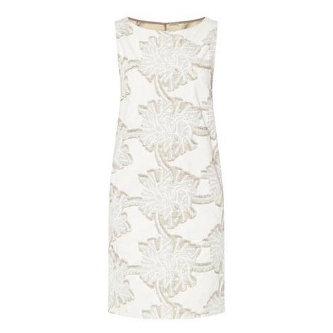 Jacquard Flower Print Dress, ${color}