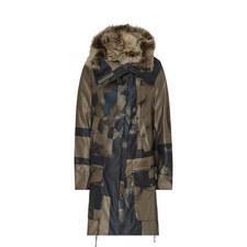 Coma Printed Parka Jacket