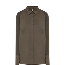 Elsa Ribbed Sleeve Shirt