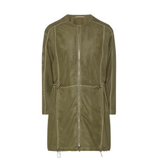 Punch Leather Coat