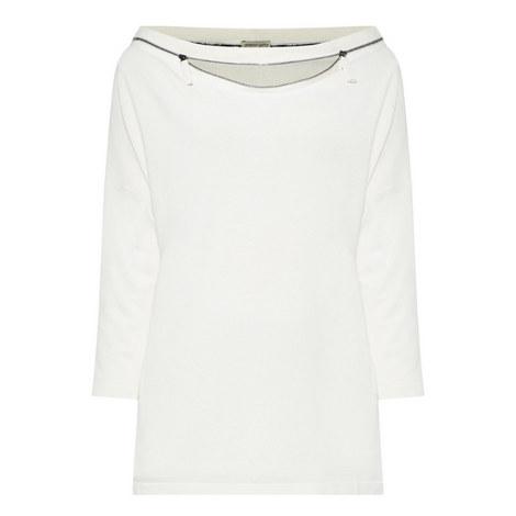 Mezo Zip Neck Sweater, ${color}