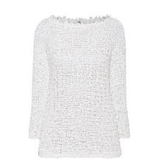 Ribbon Knit Sweater