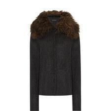 Pao Faux Fur Trim Jacket