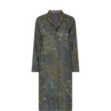 Camouflage Print Coat