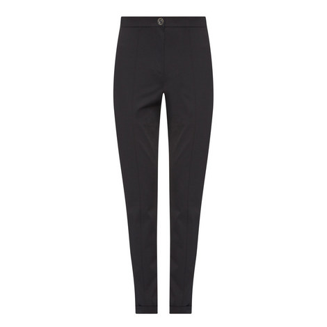 Ral High-Waisted Trousers, ${color}