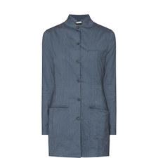 Stretch Linen Jacket