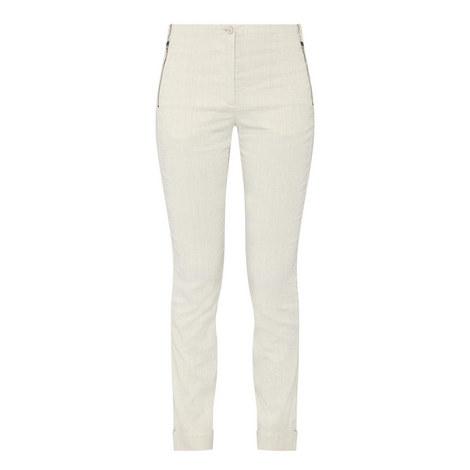 Stretch Linen Trousers, ${color}