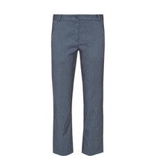 Stretch Cropped Trousers